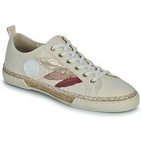 Pantofi Femei Pantofi sport stil gheata Pataugas AUTHENTIQUE/T J2E Bej / Auriu / Roz