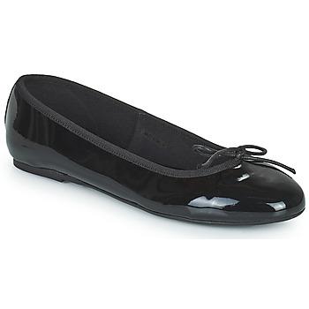 Pantofi Femei Balerin și Balerini cu curea JB Martin ROMY Negru