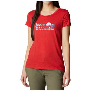 Îmbracaminte Femei Tricouri mânecă scurtă Columbia  Multicolor