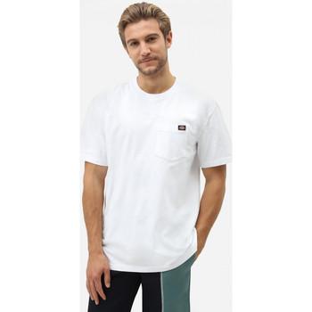 Îmbracaminte Bărbați Tricouri mânecă scurtă Dickies Porterdale tshirt mens Alb