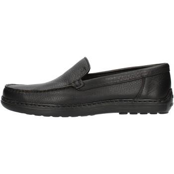 Pantofi Bărbați Mocasini Notton 807 Black