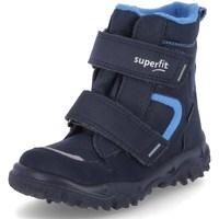 Pantofi Băieți Cizme de zapadă Superfit Husky 1 Albastre