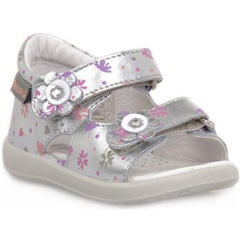 Pantofi Băieți Sandale  Naturino FALCOTTO 0Q04 BENSEVAL SILVER Grigio
