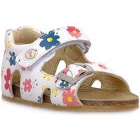 Pantofi Băieți Sandale  Naturino FALCOTTO 0N01 BEA WHITE Bianco