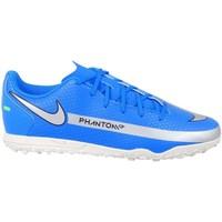 Pantofi Băieți Fotbal Nike Phantom GT Club TF JR Albastre