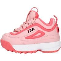 Pantofi Fete Pantofi sport Casual Fila 1010826 Pink