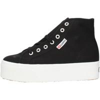 Pantofi Femei Pantofi sport stil gheata Superga 2705HITTOP Black