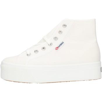 Pantofi Femei Pantofi sport stil gheata Superga 2705HITTOP White