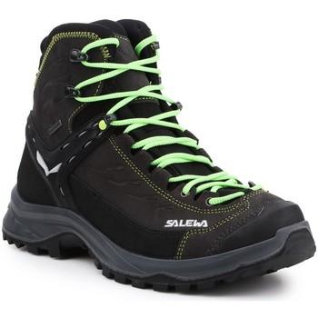 Pantofi Bărbați Drumetie și trekking Salewa MS Hike Trainer Mid GTX 61336-0972 black