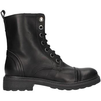 Pantofi Femei Cizme casual Unica 10190 BLACK