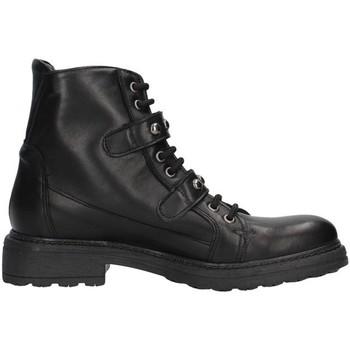 Pantofi Femei Botine Unica 10191 BLACK