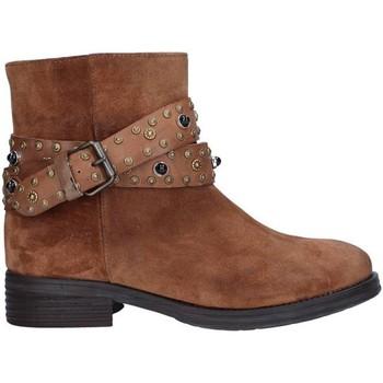 Pantofi Femei Botine Zoe 0050 BROWN