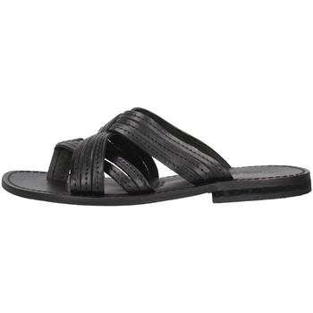 Pantofi Femei Papuci de vară Antichi Romani 1456 BLACK