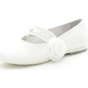 Pantofi Fete Balerin și Balerini cu curea Asso 39049 WHITE