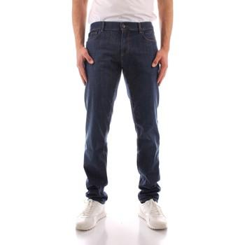 Îmbracaminte Bărbați Jeans drepti Trussardi 52J00000 1Y000149 BLUE