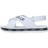 Pantofi Femei Sandale  GaËlle Paris G-821 WHITE