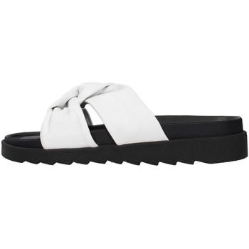 Pantofi Femei Papuci de vară Apepazza S1SOFTWLK01/LEA WHITE
