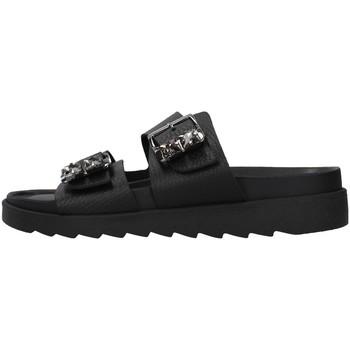 Pantofi Femei Papuci de vară Apepazza S1SOFTWLK03/LEA BLACK