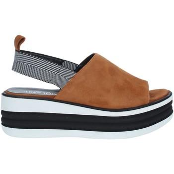 Pantofi Femei Sandale  Tres Jolie 1901/FOX BROWN