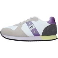 Pantofi Fete Pantofi sport Casual Blauer S1LILLI02/LES WHITE