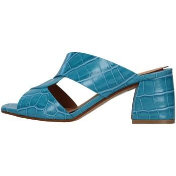 Pantofi Femei Papuci de vară Melluso N705 LIGHT BLUE