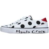 Pantofi Femei Pantofi sport Casual Manila Grace S631CP WHITE