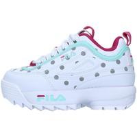 Pantofi Fete Pantofi sport Casual Fila 1011077 WHITE