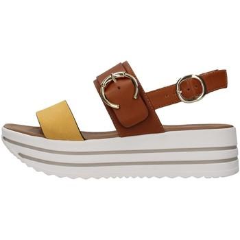 Pantofi Femei Sandale  NeroGiardini E115711D YELLOW