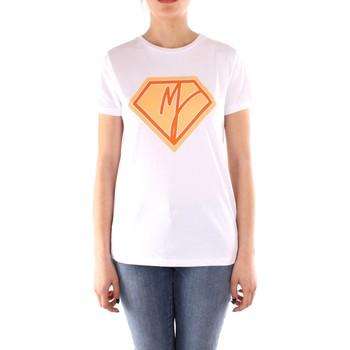 Îmbracaminte Femei Tricouri mânecă scurtă Manila Grace T004CU WHITE