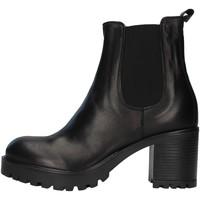 Pantofi Femei Botine Unica 10264 BLACK