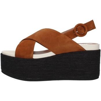Pantofi Femei Sandale  Tres Jolie 2801/MONY BROWN