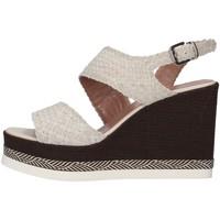 Pantofi Femei Sandale  Tres Jolie 2903/VALE/MSL WHITE