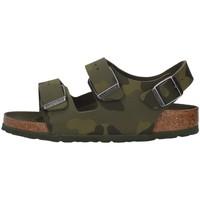 Pantofi Băieți Sandale  Birkenstock 1014590 GREEN
