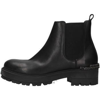 Pantofi Femei Botine Zoe WAR24 BLACK