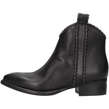 Pantofi Femei Ghete Zoe NEWTOP02/P BLACK