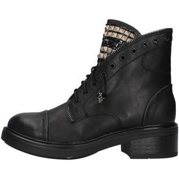 Pantofi Femei Ghete Gold&gold GA75 BLACK
