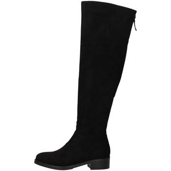 Pantofi Femei Cizme casual Luciano Barachini DD113E BLACK