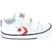 Pantofi Copii Pantofi sport Casual Converse Star Player 2V BB Blanc Rouge Alb
