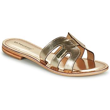 Pantofi Femei Papuci de vară Les Tropéziennes par M Belarbi DAMIA Auriu