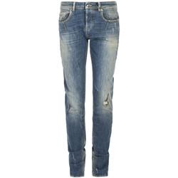 Îmbracaminte Bărbați Jeans slim Les Hommes  albastru