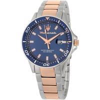 Ceasuri & Bijuterii Bărbați Ceasuri Analogice Maserati R8853140003, Quartz, 44mm, 10ATM Argintiu