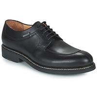 Pantofi Bărbați Pantofi Derby Pellet Magellan Negru