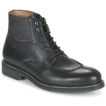 Pantofi Bărbați Ghete Pellet ROLAND Negru