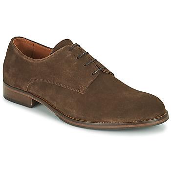 Pantofi Bărbați Pantofi Derby Pellet ADRIEN Maro