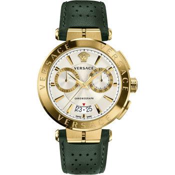 Ceasuri & Bijuterii Bărbați Ceasuri Analogice Versace VE1D01320, Quartz, 45mm, 5ATM Auriu