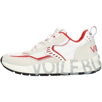 Pantofi Bărbați Pantofi sport Casual Voile Blanche 001201592601 White and red