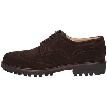 Pantofi Bărbați Pantofi Derby Triver Flight 214-03B BROWN