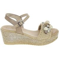 Pantofi Femei Sandale  Porronet Sandale F12646 Taupe Gri