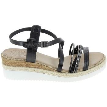 Pantofi Femei Sandale  Porronet Sandale F12632 Noir Negru