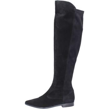 Pantofi Femei Cizme lungi peste genunchi Carmens Padova Cizme BJ811 Negru